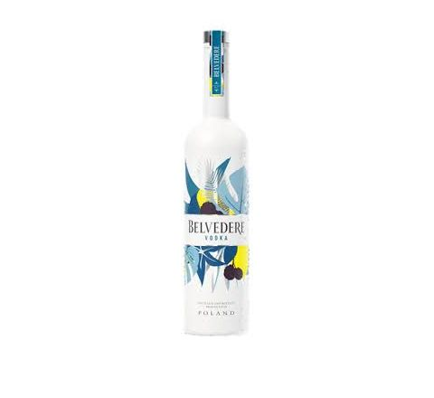 Belvedere Limited Edition Summer Bay Vodka 70cl - Case of 6