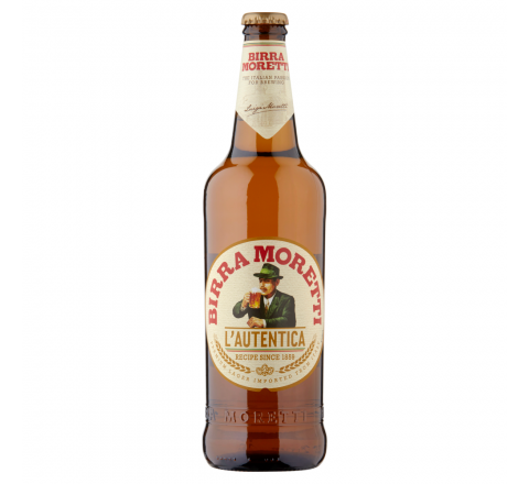Birra Moretti Beer NRB 660ml - Case of 12