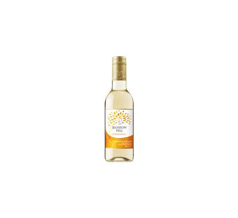 Blossom Hill Chardonnay Wine Miniature 187ml - Case of 12