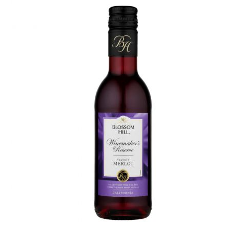Blossom Hill Merlot Wine Miniature 187ml - Case of 12