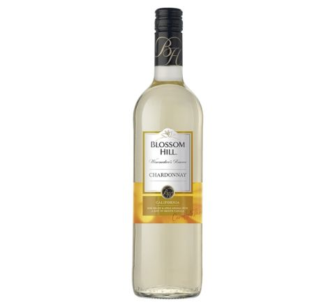 Blossom Hill Chardonnay Wine 75cl - Case of 6