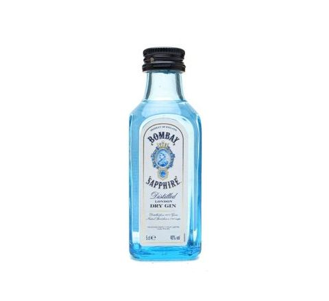 Bombay Sapphire Gin Miniature 5cl - Case of 12