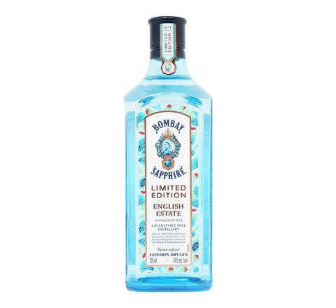 Bombay Sapphire English Estate Gin 70cl - Case of 6
