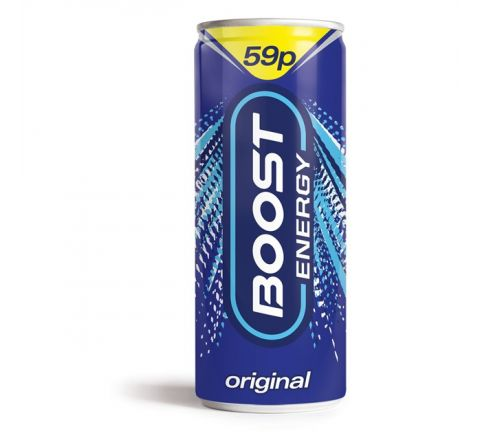 Boost Energy Drink 250ml PM 59p - Case of 24