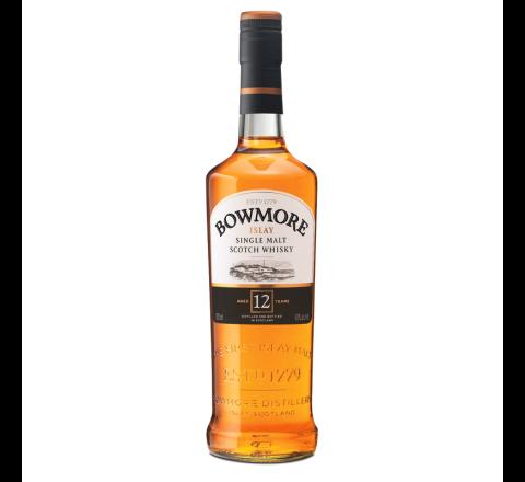 Bowmore 12 YO Whisky 70cl - Case of 6