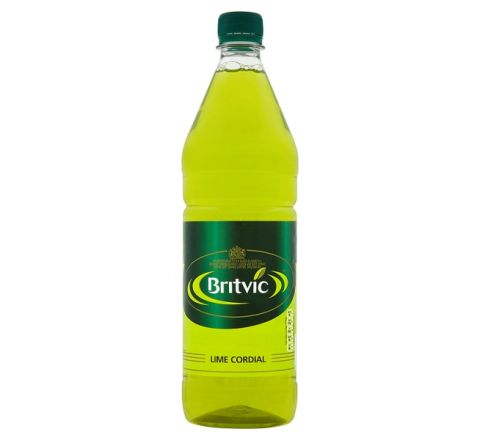 Britvic Lime Cordial 1 Litre - Case of 12