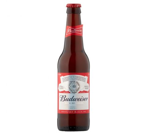 Budweiser BeerNRB 330ml - Case of 24