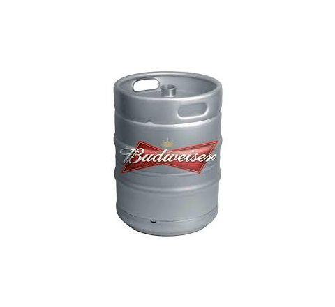 Budweiser Beer Keg - 50Litre (11 Gallons)