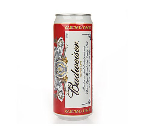 Budweiser Beer can 500ml - Case of 24