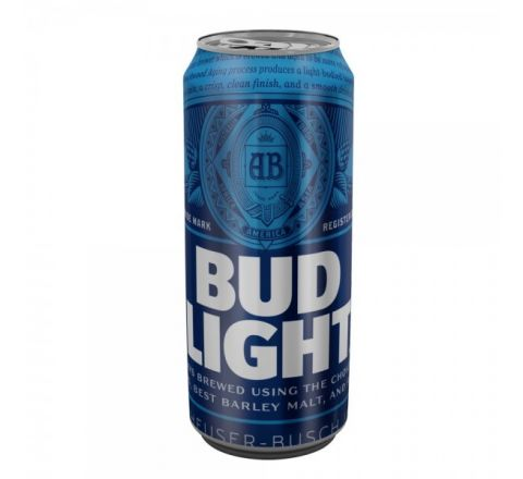 Budweiser Light Beer can 440ml - Case of 24