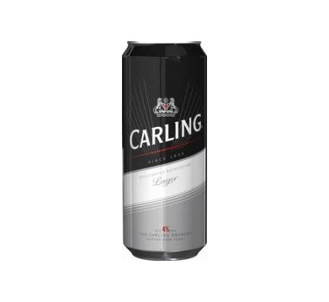 Carling Beer can 500ml - Case of 24
