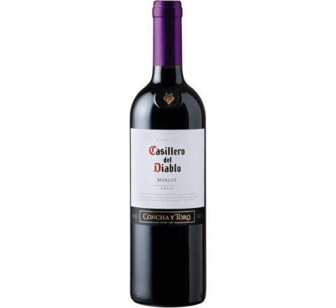 Casillero del Diablo Merlot Wine 75cl - Case of 6