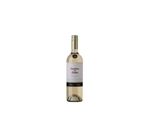 Casillero del Diablo Pinot Grigio Wine 75cl - Case of 6