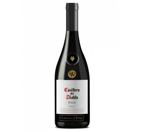 Casillero del Diablo Shiraz Wine 75cl - Case of 6