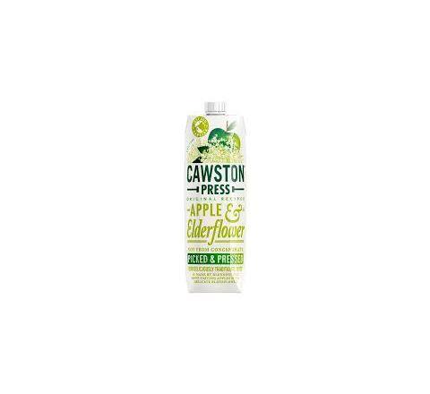 Cawston Press Apple and Elderflower Juice 1 Litre - Case of 6