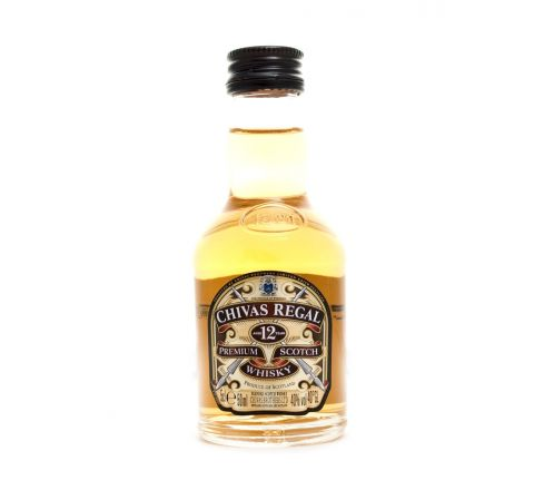 Chivas Regal 12 YO Whisky Miniature 5cl - Case of 120