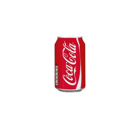 Coca Cola can 330ml - Case of 24 (GB)