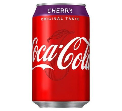 Coca Cola Cherry can 330ml - Case of 24