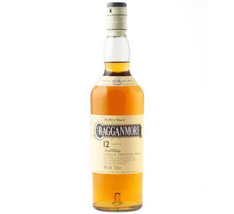Cragganmore 12 YO Whisky 70cl - Case of 6