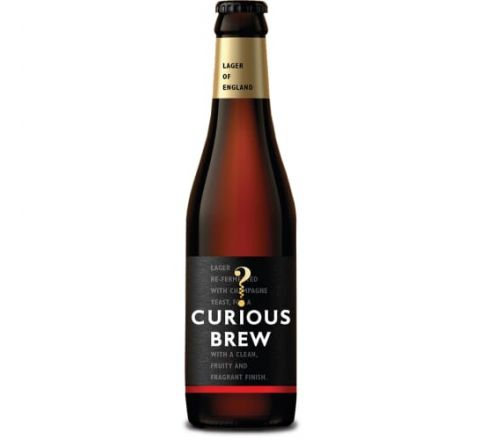 Curious Brew Lager NRB 330ml - Case of 12