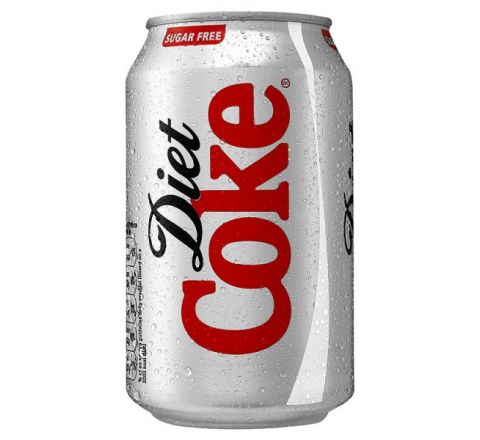 Diet Coke can 330ml - Case of 24 (GB)