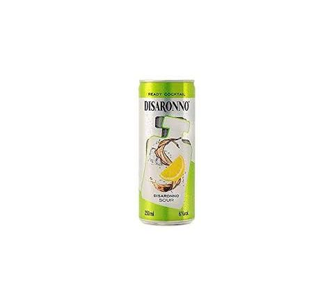 Disaronno Sour Alcopops Can 250ml - Case of 12
