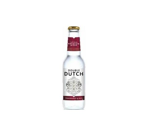 Double Dutch Pomegranate & Basil NRB 200ml - Case of 24