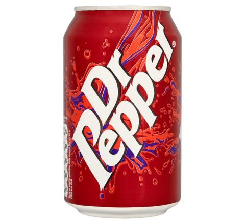 Dr Pepper can 330ml - Case of 24