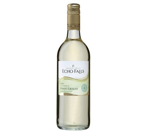 Echo Falls Pinot Grigio Wine 75cl - Case of 6