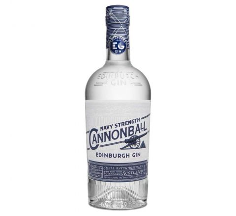 Edinburgh Cannonball Navy Strength Gin 70cl