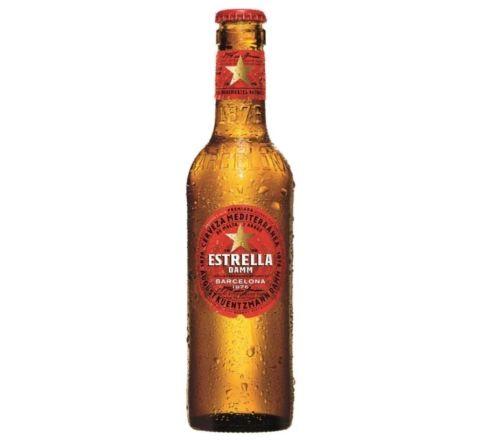 Estrella Damm Beer NRB 330ml - Case of 24