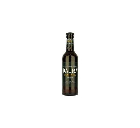 Estrella Damm Daura Marzen Beer NRB 330ml - Case of 24
