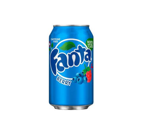 Fanta Berry can 355ml - Case of 12