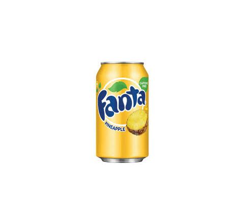 Fanta Pineapple can 355ml - Case of 12