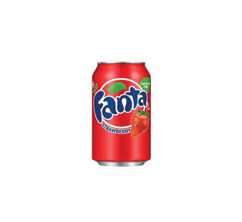 Fanta Strawberry can 355ml - Case of 12