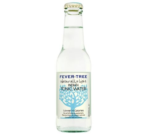 Fever-Tree Naturally Light Indian Tonic Water NRB 200ml - Case of 24