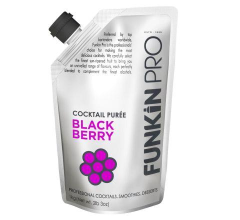 Funkin Pro Blackberry Purées 1kg - Case of 5
