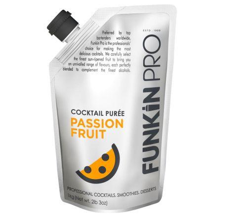 Funkin Pro Passion Fruit Purées 1kg - Case of 5
