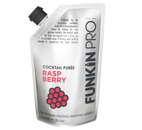 Funkin Raspberry Purées 1 kg - Case of 5