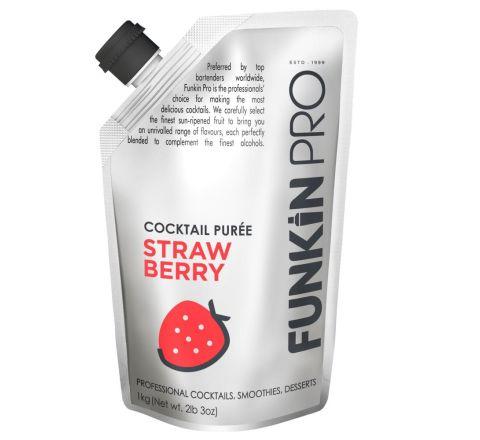 Funkin Pro Strawberry Purées 1 kg - Case of 5