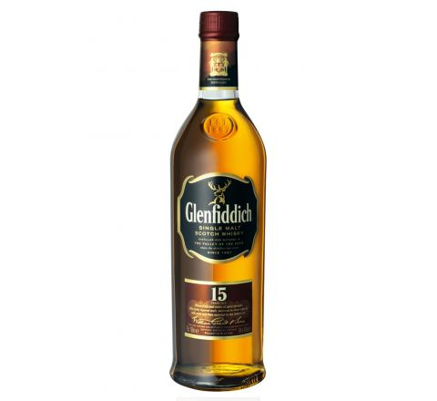 Glenfiddich 15 Year Old Solera Reserva Whisky 70cl