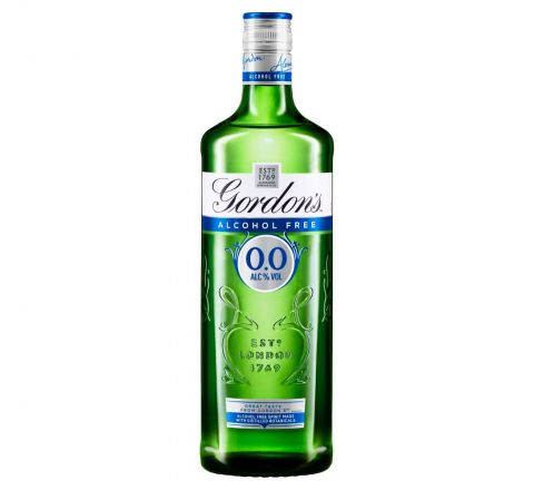 Gordon's 0.0% Alcohol Free Gin 70cl - Case of 6