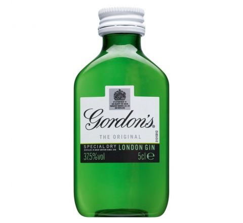 GORDON'S GIN MINIATURE 5CL - CASE OF 12