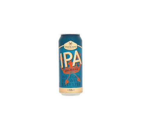 Greene King IPA India Pale Ale Beer can 500ml - Case of 24