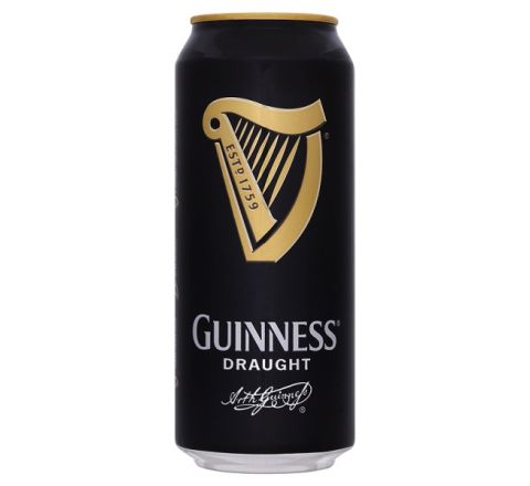 Guinness Draught Beer can 440ml - Case of 24