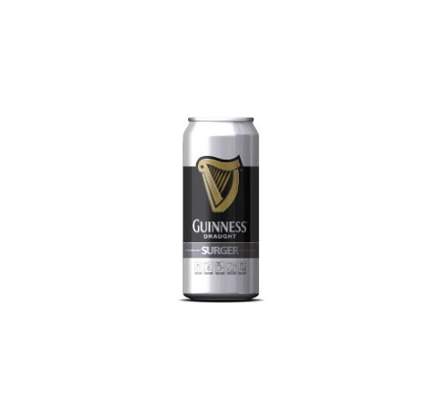 Guinness Surger Beer can 520ml - Case of 24