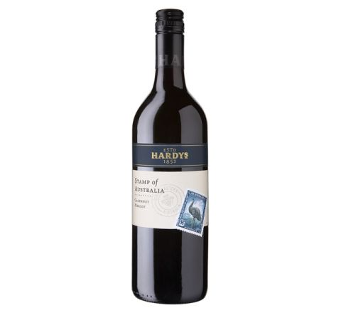 Hardys Stamp of Australia Cabernet Merlot Wine 75cl - Case of 6