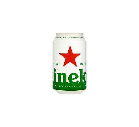 Heineken Beer can 330ml - Case of 24