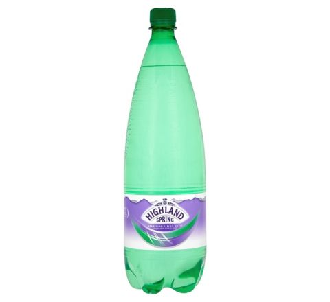Highland Spring Sparkling Water 1.5 Litre - Case of 12