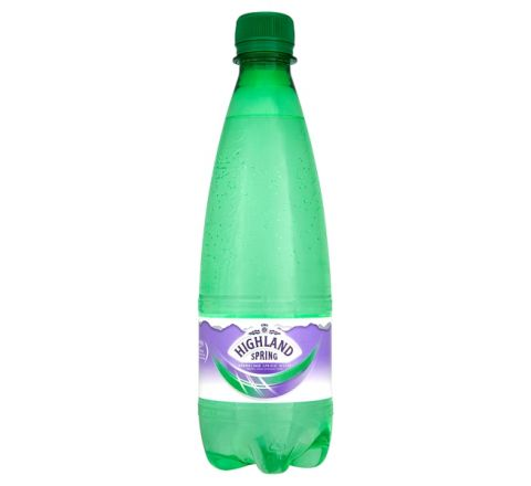 Highland Spring Sparkling Water 500ml - Case of 24